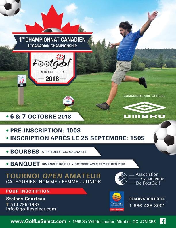 Championnat Canadien de footgolf